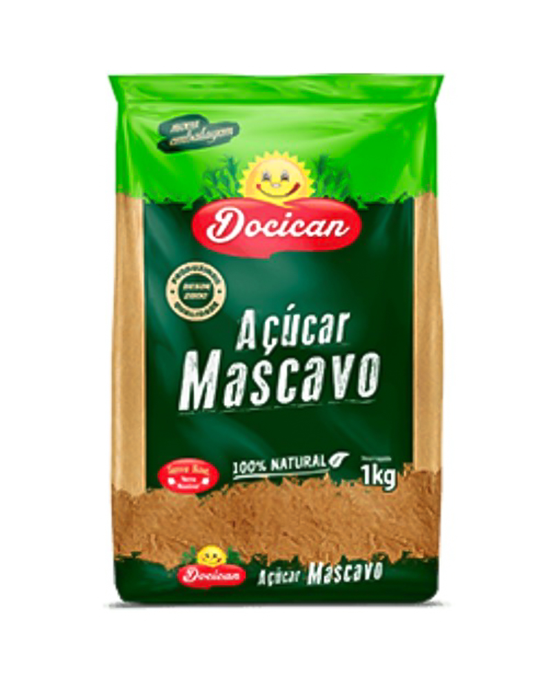 ACUCAR MASCAVO DOCICAN 1Kg