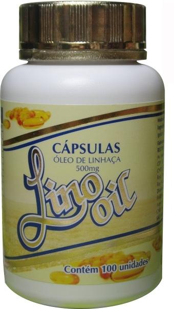 CAPSULAS OLEO DE LINHAÇA 100X500mg (LinoOil)