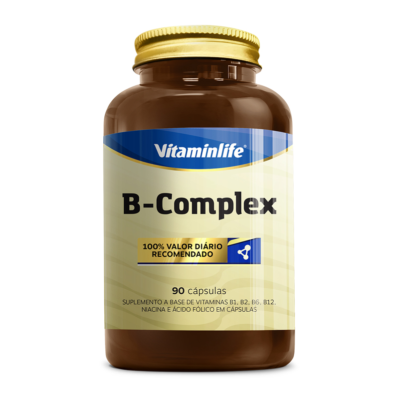 "CAPSULAS COMPLEXO B ""90"" (VitaminLife)"