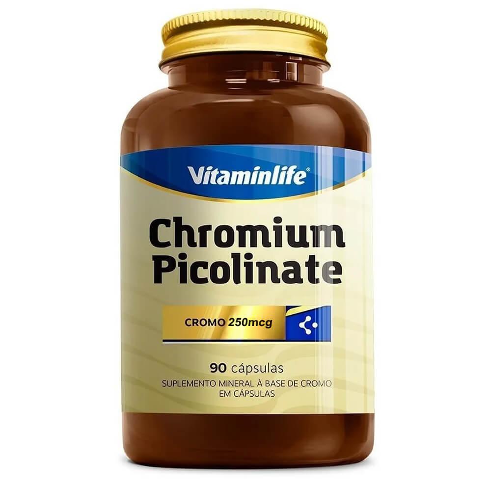 """CAPSULAS PICOLINATO DE CHROMO """"90"""" (VitaminLife)"""