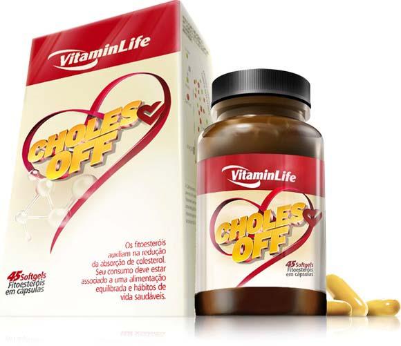 """CAPSULAS fitoesterois""""60 CAPS (VitaminLife)"""