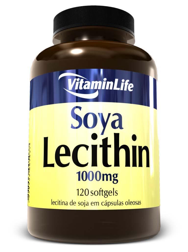 CAPSULAS LECITINA DE SOJA 120X1000MG (VitaminLife)