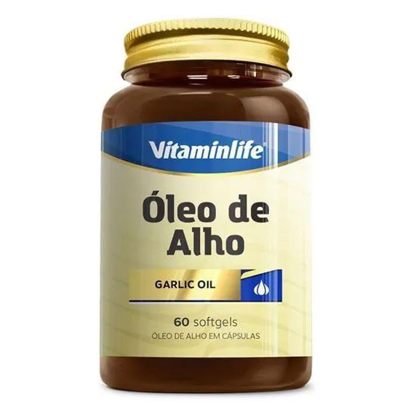 CAPSULAS OLEO DE ALHO( 60cap/250mg) (VitaminLife)