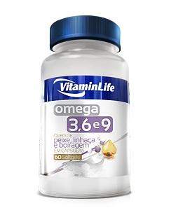 CAPSULAS OMEGA 3 6 9 - 60 CAPS (VitaminLife)