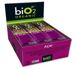 biO2 Organic Açai 12 X 25g