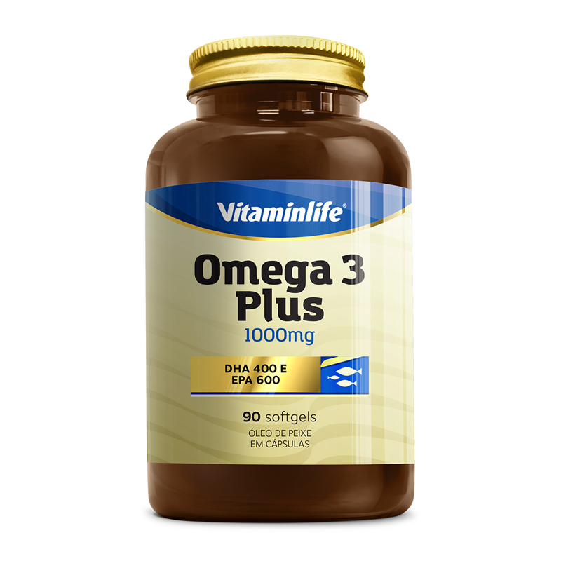 CAPSULAS OMEGA 3 PLUS 90 CAPS (vitamin life)