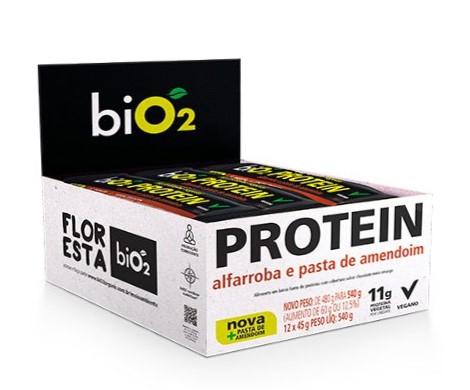 bio2 Protein Bar Alfarroba 12 X 40g