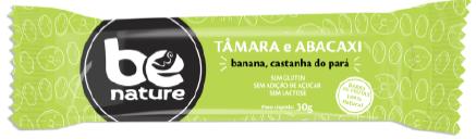 BARRA FRUTAS BE NATURE TAMARA E ABACAXI 16X30g(sem gluten,açucar e lactose)