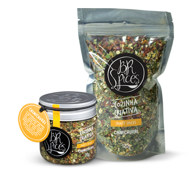 BRSPICES CHIMICHURRI POTE 70G