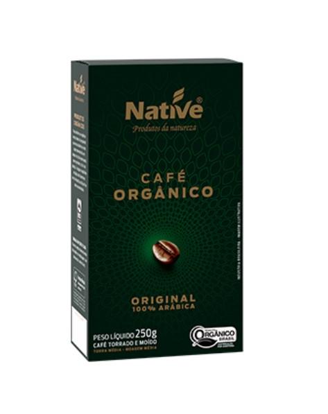 CAFE ORGANICO MOIDO TORRADO NATIVE 250g