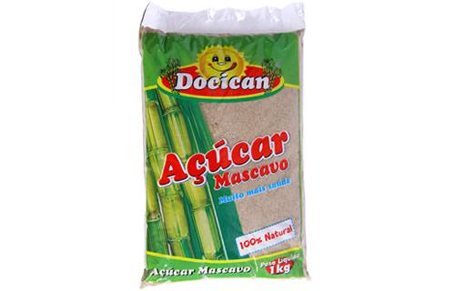 ACUCAR MASCAVO DOCICAN 500g