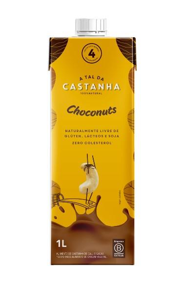 BEBIDA VEGETAL DE CASTANHA C/ CHOCONUTS