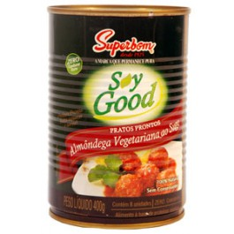 ALMONDEGA VEGETAL 400G (SUPERBOM)
