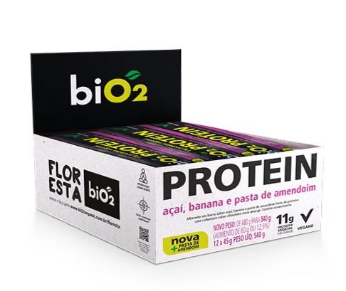 bio2 Protein Bar Açai e Banana 12x40g