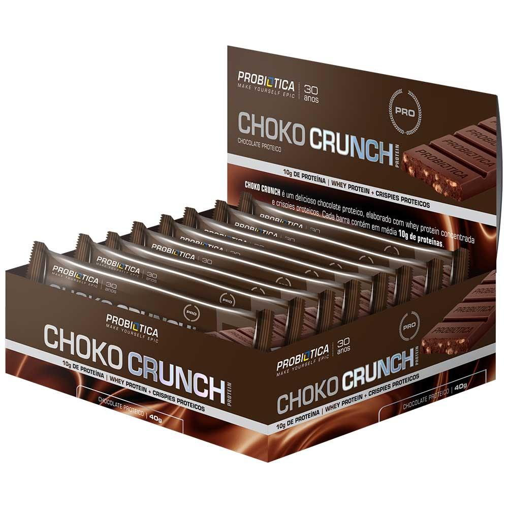 BARRA WHEY BAR CHOKO CRUNCH PROBIOTICA (cx12x40g)