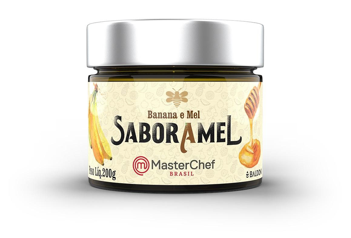 GELEIA DE MORANGO COM MEL 200 g (master chef)