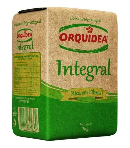 FARINHA TRIGO INTEGRAL ORQUIDIA 1Kg