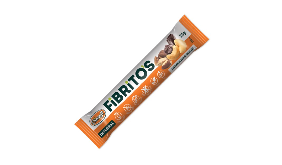 FIBRITOS CASTANHAS DE CAJU (biosoft)