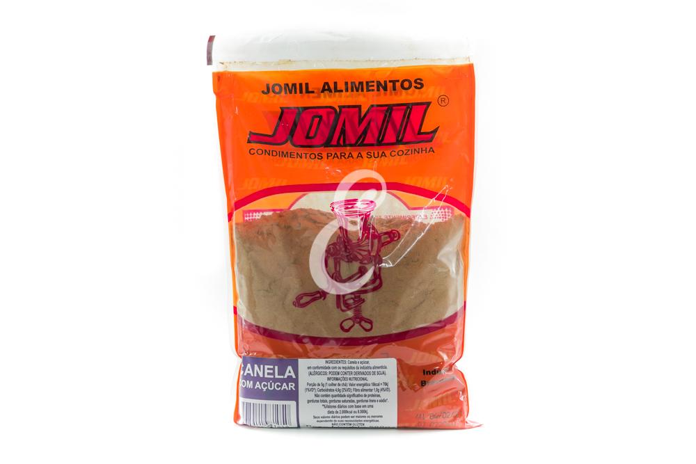 CANELA COM ACUCAR JOMIL 500G