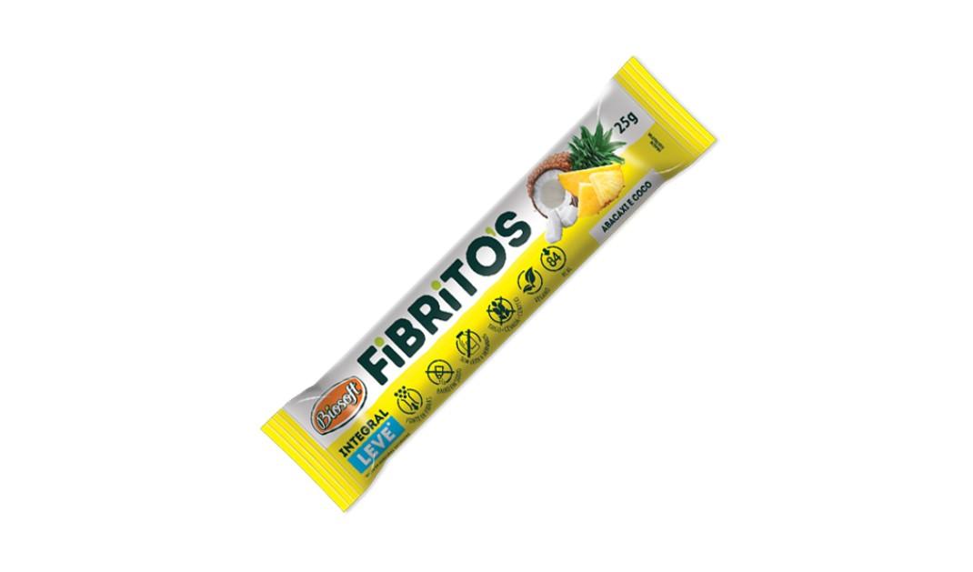BARRA FIBRITOS ABACAXI E COCO LEVE (Biosoft) 25g