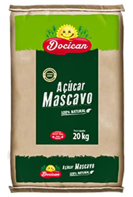 ACUCAR MASCAVO DOCICAN 20KG